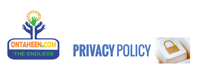 Ontaheen's Privacy Policy