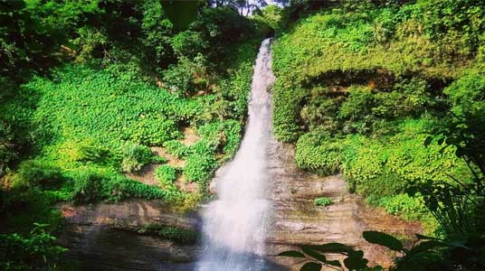 Sohosrodhara Water Fall in Eco Park Sitakunda