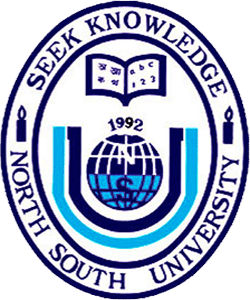 north South University logo