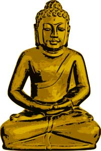 Golden Statue of Gautama Buddha