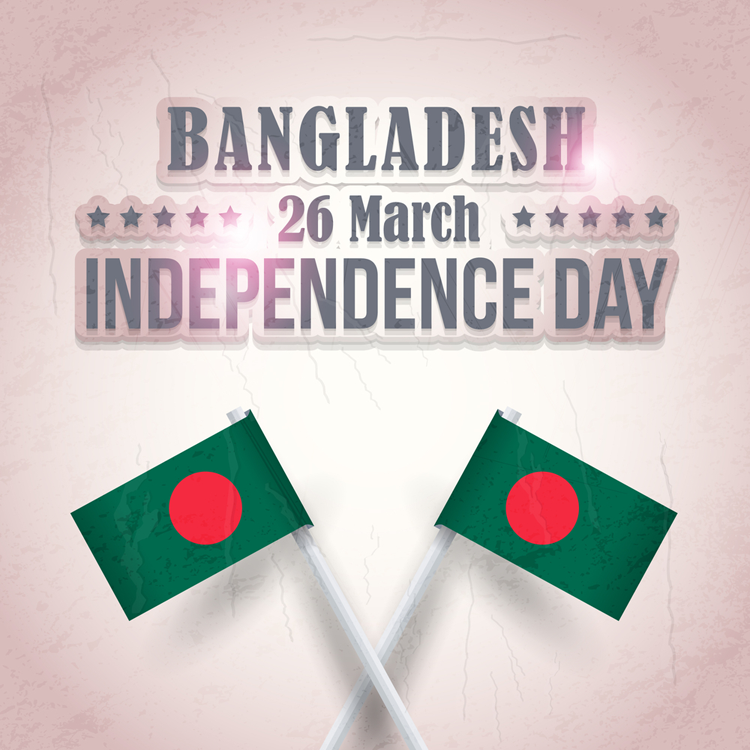 26 th March Independece Day Poster