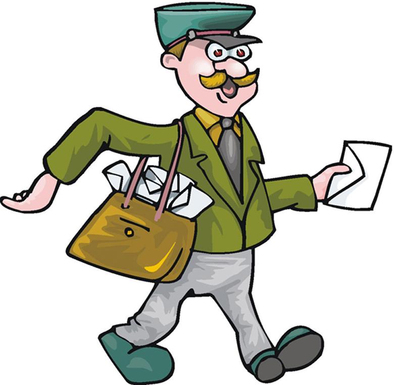 The Post Man cartoon
