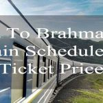 Dhaka to Brahmanbaria Train Schedule & Ticket Price 2018