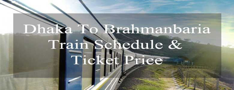 Dhaka to Brahmanbaria Train