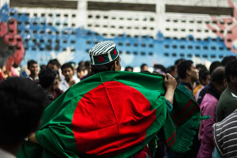 People of Bangladesh Celebration Victory Day