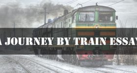 A Journey By Train Essay