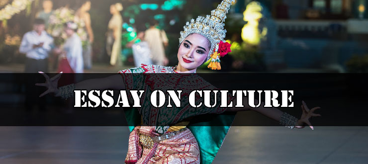 Essay On Culture Suitable For All Students   Essay On Culture Suitable For All Students