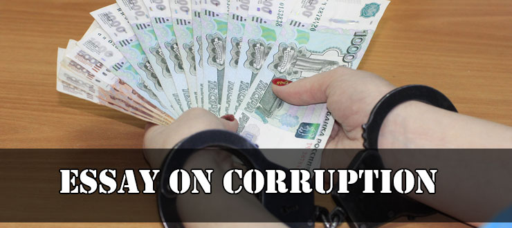 Essay on Corruption