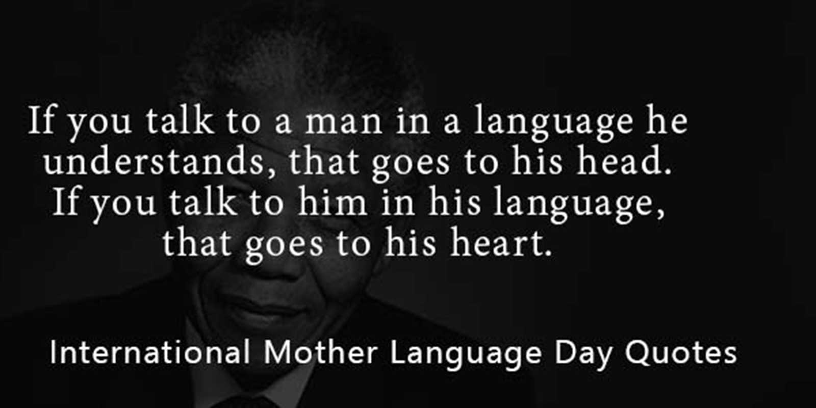 International Mother Language Day Quote