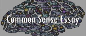 essay on common sense
