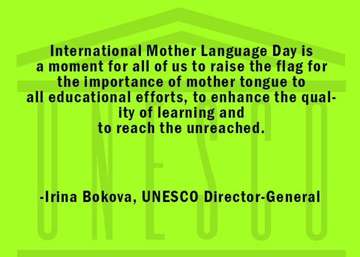 quotes on importance of mother tongue