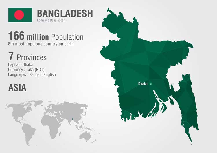 Bangladesh Map Pic