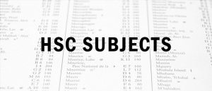 HSC Subjects
