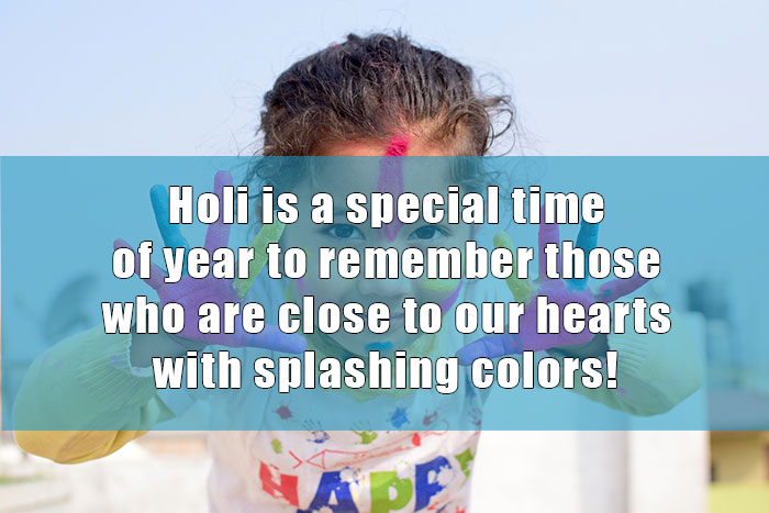Holi Message One