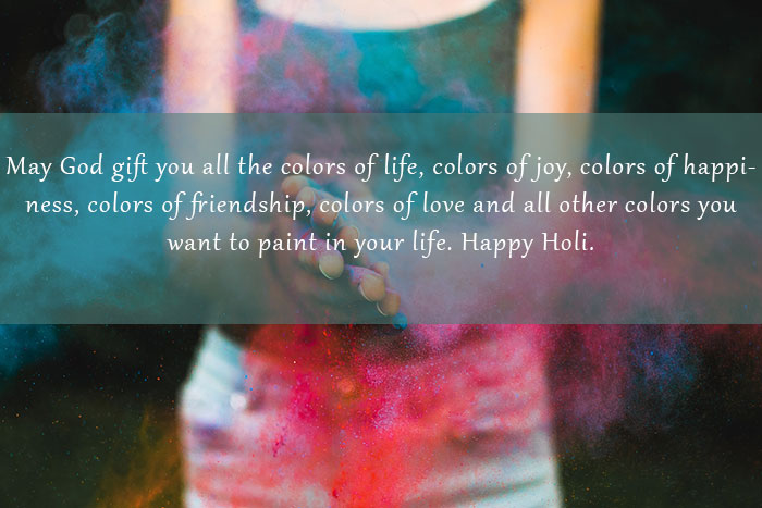 Holi Messages Three