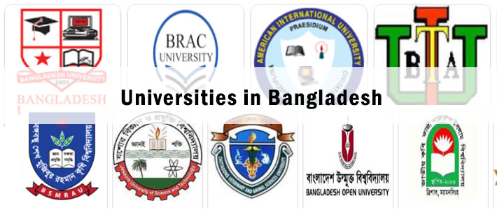 Universities in Bangladesh: All Public & Private University
