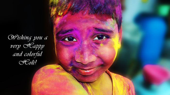 happy holi quotes One