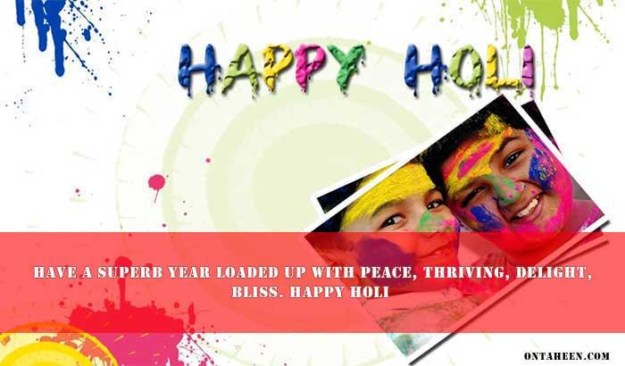 HAPPY HOLI GREETINGS three