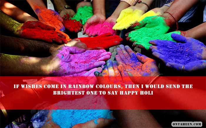 HAPPY HOLI WISHES FOR FACEBOOK WHATSAPP One