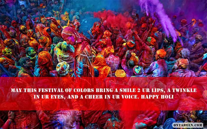 HOLI GREETINGS MESSAGES two