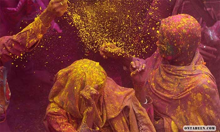 Holi celebration wallpaper 1