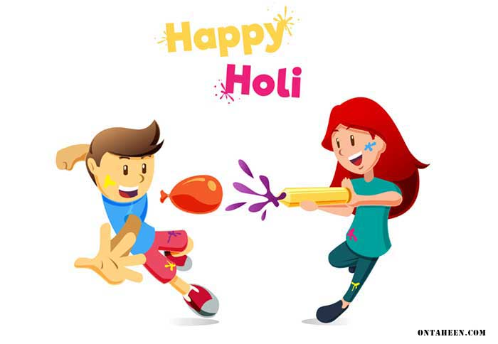 happy Holi wallpaper 2019