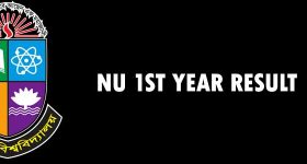 nu 1st year result