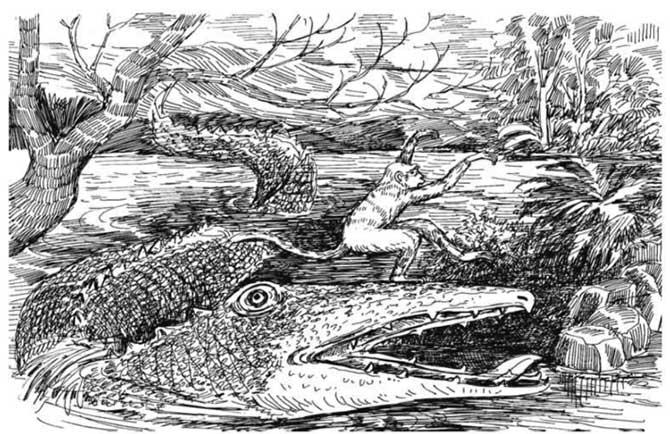 Crocodile and Monkey Jataka