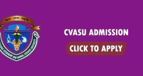 Cvasu Admission