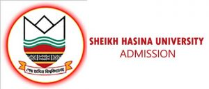 Sheikh Hasina University Admission