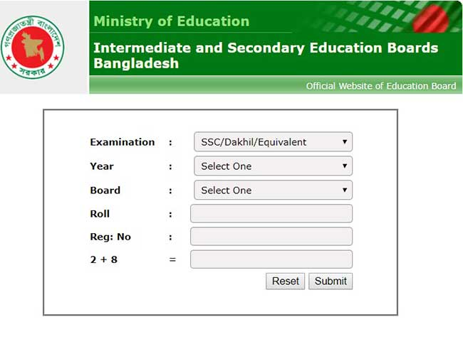 Education Board Results
