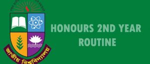 Honour 2nd Year Routine