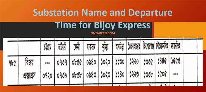 Bijoy Express substations