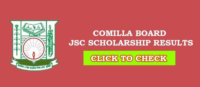 JSC Scholarship Result Comilla Education Board