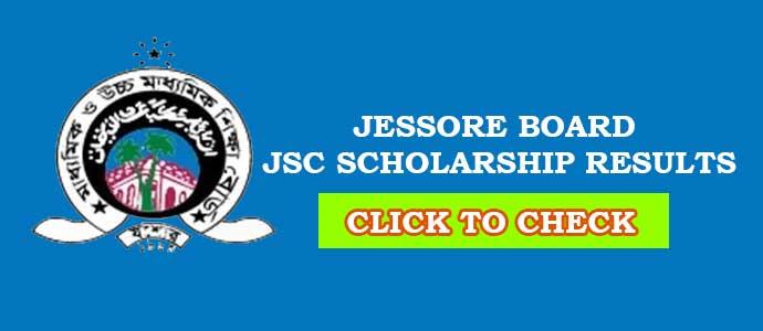 Jessore Board JSC Scholarship Result